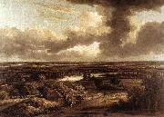 Philips Koninck Dutch Landscape Viewed from the Dunes oil painting